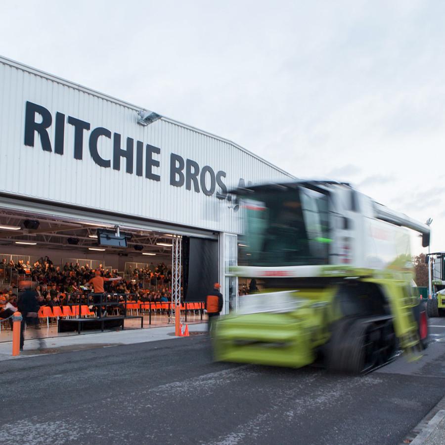 Reportagefotografie für das Unternehmen Ritchie Bros. Auctioneers am Standort Meppen